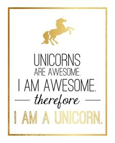 Never forget, you are awesome! Free Golden Sun Soap 1oz. for all unicorns! Visit our Super Deals page.