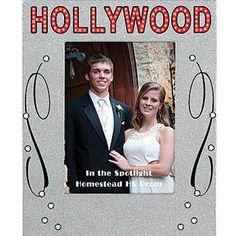 Silver Hollywood Glamour Glitter Frame