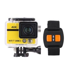 (95.99$)  Watch now - http://aidej.worlditems.win/all/product.php?id=D3401Y - 4K Full HD DV 2.0 TFT Screen Wifi Waterproof 50M 170?? Wide Angle Remote Watch App Smartphone Control Outdoor Action Sports Camera Camcorder Digital Cam Video Car DVR Webcam