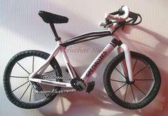 Bicicleta de carretera toda de goma eva #bici #gomaeva #fofucha #fofucho #bike