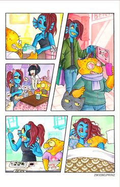 undyne and alphyst