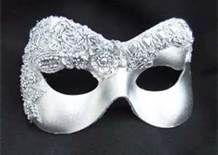 silver masks for masquerade ball