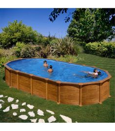 1000 images about jardines on pinterest stone bench for Piscinas enterradas