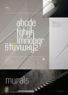 MILAN TYPEFACE Client: Personal project Project: Typeface Design by All Design Transparent