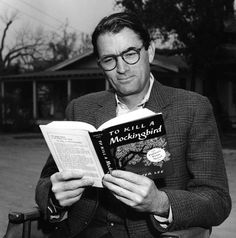 Gregory Peck, on the set of TO KILL A MOCKINGBIRD (1962)
