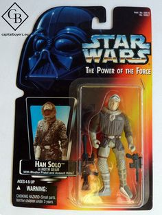 Star Wars - The Power of the Force - Han Solo in Hoth Gear - Figura 10cm / 4