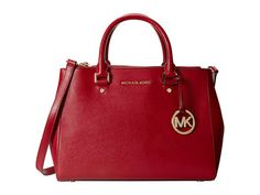 MICHAEL Michael Kors Sutton Medium Satchel Orange - Zappos.com Free Shipping BOTH Ways