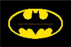 The Bat! Free graph pattern from Trifles N Treasures