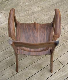 Konrad is already my hero when it comes to planes. Now he makes these chairs · Sam MaloofChair ...