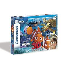 New clementoni #disney #finding nemo 3d 104 #piece jigsaw puzzle,  View more on the LINK: 	http://www.zeppy.io/product/gb/2/162003962528/