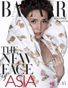 Stephanie Runner Up Asia's Next Top Model Cycle 1 Celebrity Crush, Celebrity Style, Asia's Next Top Model, Celebs, Celebrities, Harpers Bazaar, Get The Look, Beautiful, Tops