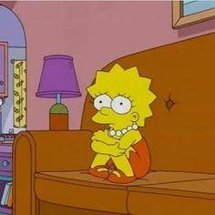 Imagens para celular - S a d images Simpsons Drawings, Simpsons Art, Simpson Wallpaper Iphone, Cartoon Wallpaper, Cartoon Memes, Cartoon Icons, Cartoons, Simpson Wave, Artsy Background