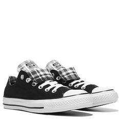 Converse Women s Chuck Taylor All Star Double Tongue Low Top Sneaker Shoe Converse  Chuck Taylor All bdbf59f71