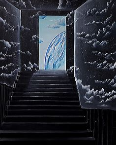 Escape of sight 2014  # acrylic on canvas # surrealism # painting # art