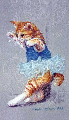 Cat Dancing © Robin Wood 1985