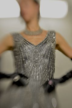 The Starlet - Silver on Jet Tango Dancers, Backstage, The Twenties, Evening Dresses, Jet, Gowns, Silver, How To Wear, Wedding Ideas