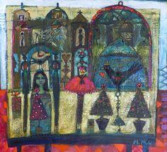 Morag  Muir - Memento Paintings, Illustrations, Artists, Gallery, Paint, Roof Rack, Painting Art, Illustration, Painting