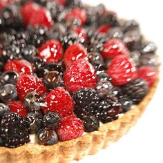 This beautiful fruit tart makes a stunning addition to any summer meal.