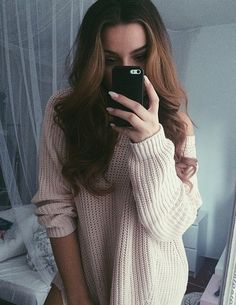 v neck sweater // click image