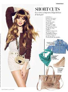 Laura Hayden en Vogue