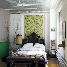 Bedroom | Stylist Sibella Court's bohemia-chic apartment | House tour | Modern decorating ideas | PHOTO GALLERY | Livingetc | Housetohome