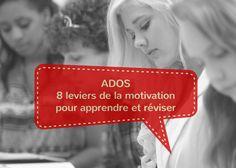 4 facteurs qui bloquent la motivation + 8 pistes pour débloquer la motivation des ados (d'après la pédagogie positive et la psychologie positive)