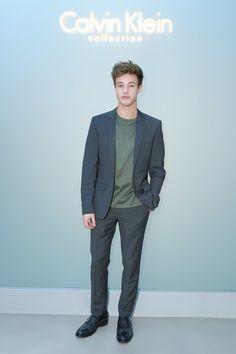 Cameron Dallas Causes Sensation at Calvin Klein - -Wmag