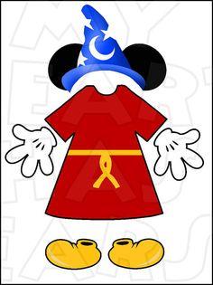 Minnie Mouse rosa partes del cuerpo para sala de estado Disney