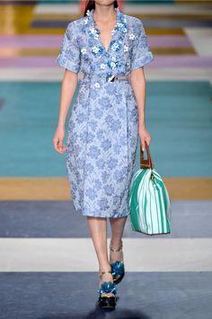 Shop on-sale MIU MIU Floral-appliquéd silk-blend cloqué wrap dress. Browse  other discount designer Knee Length Dress   more on The Most Fashionable  Fashion ... 90bfc65149b