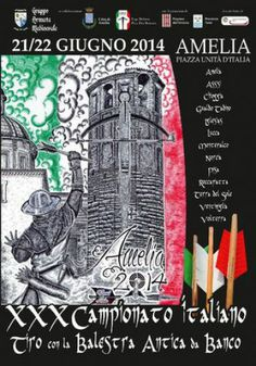 Italia Medievale: XXX Campionato italiano Tiro con la Balestra Antica da Banco