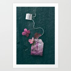 The Art of Tea II Art Print