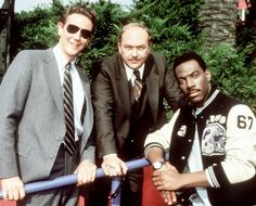 """""""Disturbing the peace? I got thrown out of a window!"""" (Beverly Hills Cop)"""