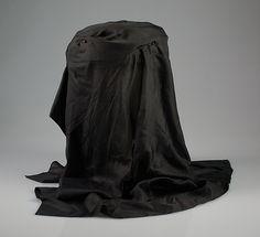 Mourning toque abt. 1905