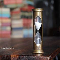 황동 모래시계 시계모래 고급 인테리어 소품 장식용