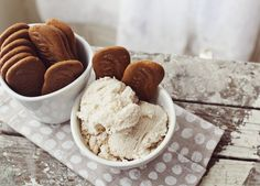 Cinnamon ricotta ice cream