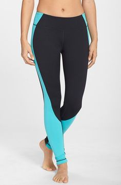 Free shipping and returns on Zella 'Live In' Contour Leggings at Nordstrom.com. The smoothing contoured waistband and angled thigh seams create a great, figure-flattering fit in svelte leggings that utilize color blocking to visually slim your silhouette.