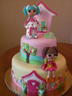 Lalaloopsy cake Thyanifer