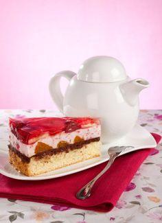 Detská piškótová torta s ovocím a Nutellou Nutella, Tiramisu, Diy And Crafts, Cheesecake, Ethnic Recipes, Sweet, Desserts, Food, Candy