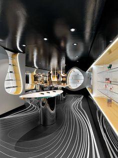 Sex shop en Munich Fun Factory diseño de karin-razim #display #interiors #visualmerchandising #sexshop