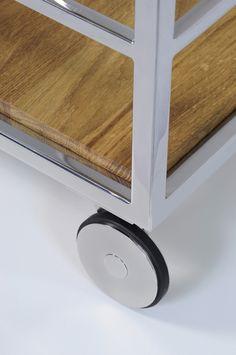 Pure bar#trolley#interiordesign#home#steel #modern#kitchen#wood#oak#Lestrocasa