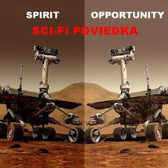 Je na Marse. Je sám. Je iba strojom. A predsa túži po spoločnosti. Z tohto dôvodu sa vydá na neuveriteľnú, najdlhšiu výpravu, akú je vôbec možné po povrchu Marsu absolvovať… Poviedka založená na skutočných udalostiach. Venus, Opportunity, Sci Fi, Science Fiction, Venus Symbol