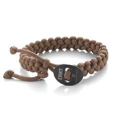 Quick Release Paracord Bracelet - Large Tan