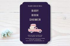 Baby Book Shower Baby Shower Invitations