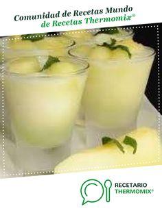 Sorbete de melón al cava por somarsae. La receta de Thermomix<sup>®</sup> se encuentra en la categoría Bebidas y refrescos en www.recetario.es, de Thermomix<sup>®</sup> Sorbets, Ice Cream, Pudding, Desserts, Food, Juices, Happy, Sherbet Recipes, Slushies