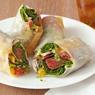 Citrusy Vegetable Wraps- healthy and tasty and perfect for the office ...