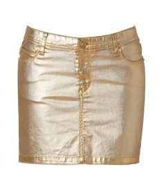 sexy sexy! by faith connexion:Golden Mini-Skirt