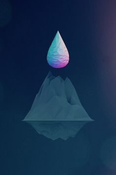 Low Poly Art low poly 3D abstract geometric isometric minimalist design