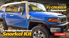 Toyota FJ Cruiser 2007-2014 Snorkel Kit Lenzdesign Performance with supercharger зурган илэрцүүд