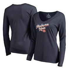 951479e0ef3 Auburn Tigers Fanatics Branded Women s Team Mom Long Sleeve T-Shirt - Navy   AuburnTigers