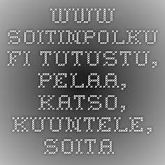 www.soitinpolku.fi - Tutustu, pelaa, katso, kuuntele, soita. Periodic Table, Instruments, Math Equations, School, Music, Tips, Periodic Table Chart, Musica, Tools